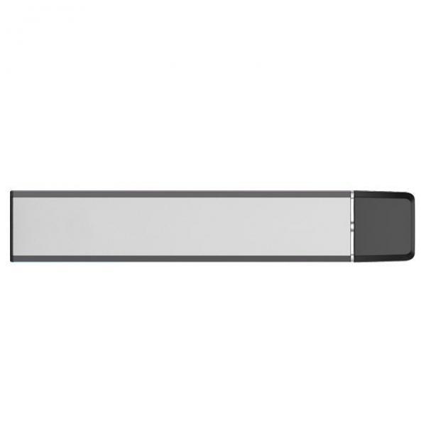 2020 Customized 0.3ml 0.5ml Silver Cbd Cartridge Glass Disposable Vape Pen